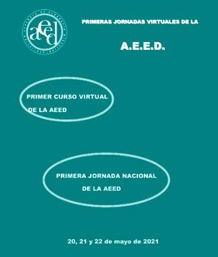 Curso y Jornada Virtual de la AEED